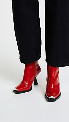 Campbell Red Hiatus Box Toe Square Jeffrey Boots Women's fgqTdfwv