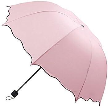 Amazon.com: Dome Parasol Sun-rain Umbrella,triple Folding