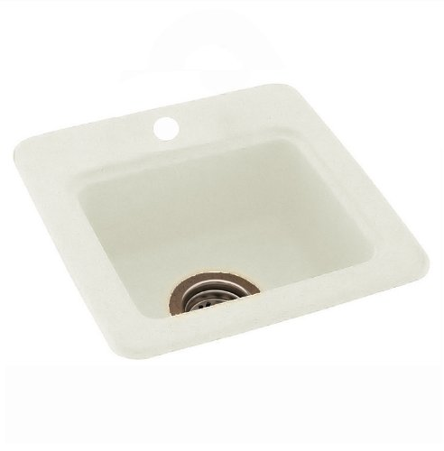 Swan SB03060RM.042 60-in L x 30-in W x 4.1875-in H Solid Surface Shower Base, Gray Granite