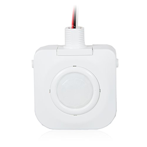 Maxxima High Bay Fixture Mount 360 Degree PIR Occupancy Sensor, Hard-Wired Motion Sensor