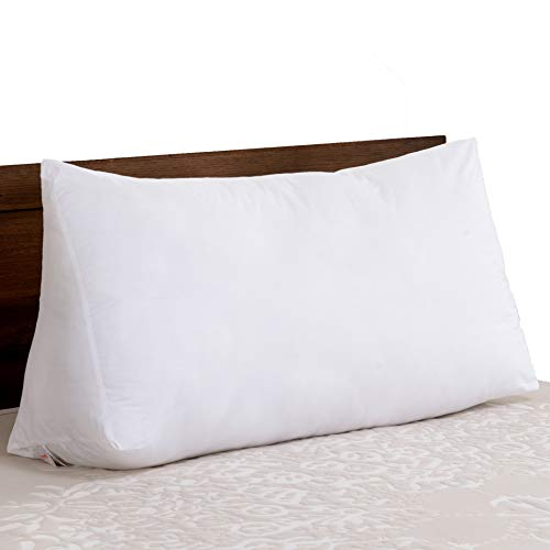Cheer Collection and Plush Wedge Pillow for Reading in Bed or Sleep Elevation
