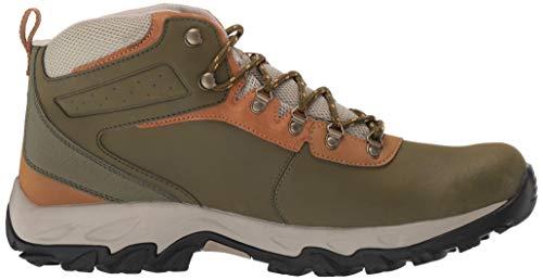Columbia Men's Newton Ridge Plus II Waterproof Ankle Boot Silver sage, Dark Banana 7 Regular US by Columbia (Image #6)