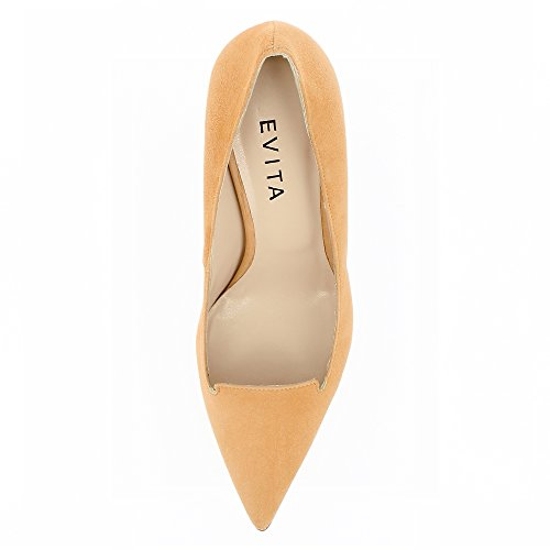 Shoes Daim Escarpins Orange Femme Evita Jessica gwIqAxdd