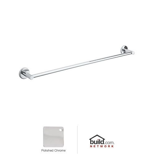 Rohl LO1/24APC Lo1/24 Lombardia Towel Bar, 24'', Polished Chrome by Rohl