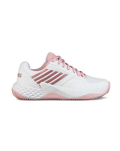 Tennis De white 5 Aero Blanc coral Blush Hb Eu Performance 41 Femme Chaussures 136m Rose swiss metallic K Court SYTvq0wY