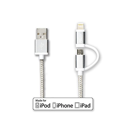 Certified Braided Lightning Connectors iphone5s