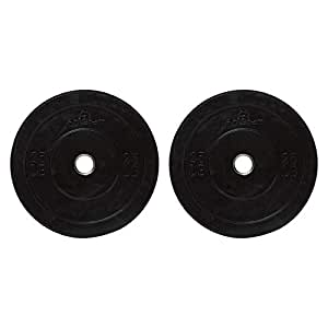 Tasheng Eric Competition Olympic Black Rubber Weight Plate 25Lb