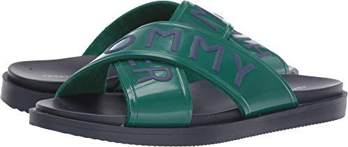 Tommy Hilfiger Sonyah Women's Sandal 9 B(M) US Kelly - Kelly Footwear Green