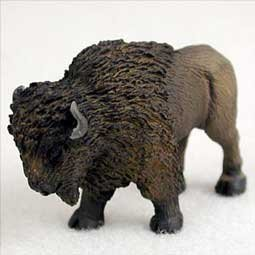 (Conversation Concepts Miniature Buffalo Tiny One Figurine (Set of 3) )