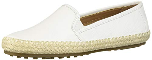 - Aerosoles Women's Lets Driving Style Loafer, White Leather, 7.5 M US