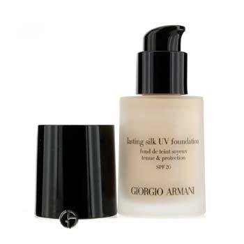 Giorgio Armani Lasting Silk UV Foundation SPF 20, No. 4.5 Sand, 1 Ounce