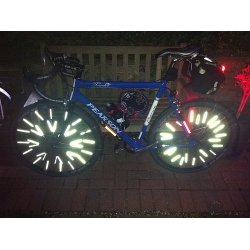 Pack Of 36 Premier Spoke Reflectors For All Spoked Wheels