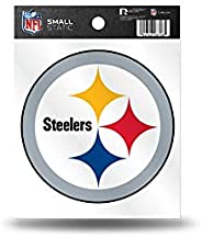 Rico Industries RPFBPITSC NFL Pittsburgh Steelers Small Static Decal