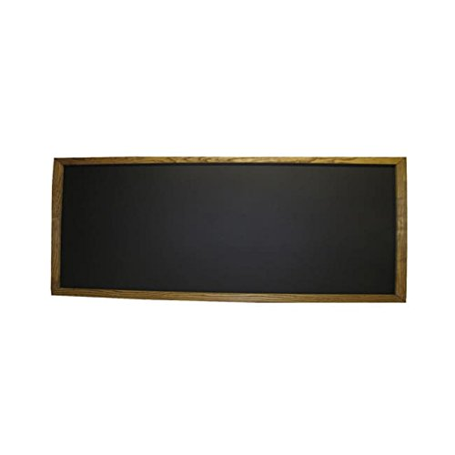R&T Enterprises Framed Chalkboard (2' x 5') Black