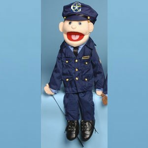 Sunny Toys GS4408 28 In. Mom Policewoman, Full Body Puppet
