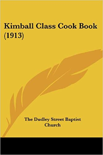 Kimball Class Cook Book (1913)