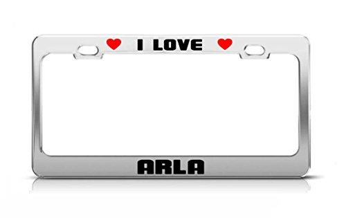 i-love-arla-boy-girl-first-name-license-plate-frame-tag-holder