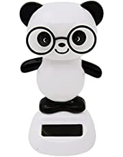 Lovely Solar Powered Toy Shaking Panda Figurine Car Dashboard OrnamentsDauerhaft Nützlich und praktisch Nettes Design Praktisches Design und langlebig