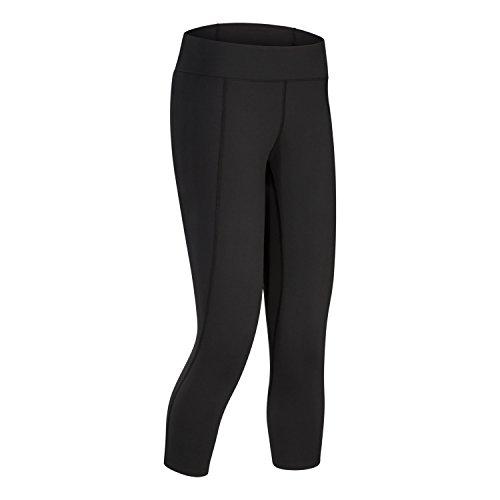 Arc'teryx Women's Rho LT Bootcut Bottoms Black Medium