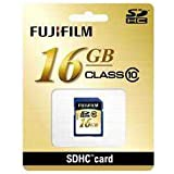富士フイルム SDHC-016G-C10 SDHCカード 16GB CLASS10
