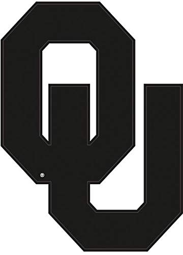 4 Inch OU Logo University of Oklahoma Sooners Boomer Sooner Removable Wall Decal Sticker Art NCAA Home Room Decor 3 by 4.5 Inches