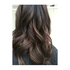 Moresoo 24 Inch Human Hair Extensions 50G Tape in Human Hair Extensions Balayage Human Hair Extensions Off Black Fading to Chocolate Brown Highlights with Off Black Adhesive Hair Extenions