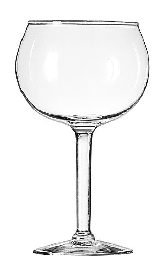 Libbey 13.7-Ounce Preston Red Wine Glass, Clear, -