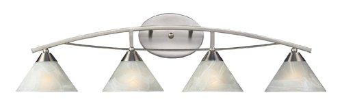 Vanity Light Elysburg 4 - Elk 17019/4 Elysburg 4-Light Vanity In Satin Nickel