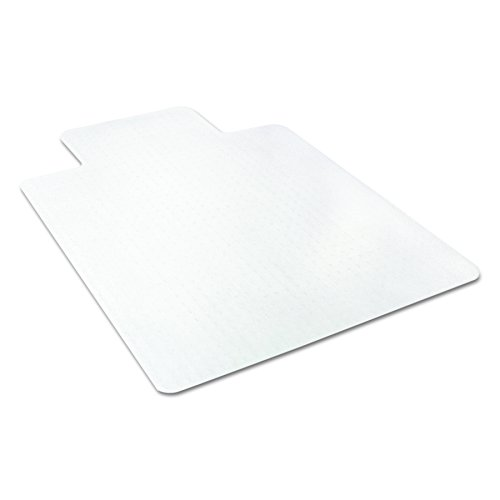 deflecto CM11112 36 x 48 w/Lip Clear EconoMat Occasional Use Chair Mat for Low Pile by Deflect-O (Image #6)