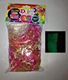 600 Count Glow in the Dark Rainbow Color Loom Bands Refill Pack. Hottest Item of the Year! 600 Refill Pack of Glow in the Dark Rainbow Color Loom Bands. Comes with 25 C Clips. Latex Free Rubber Bands. Works with All Major Brand Looms.