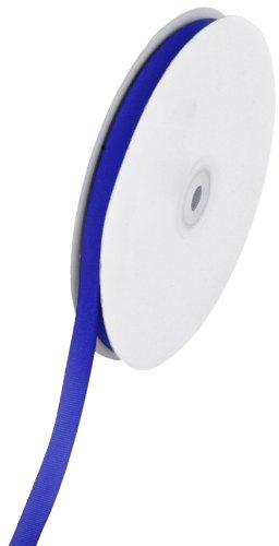 Creative Ideas Solid 3/8-Inch Grosgrain Ribbon, 50-Yard, Royal Blue