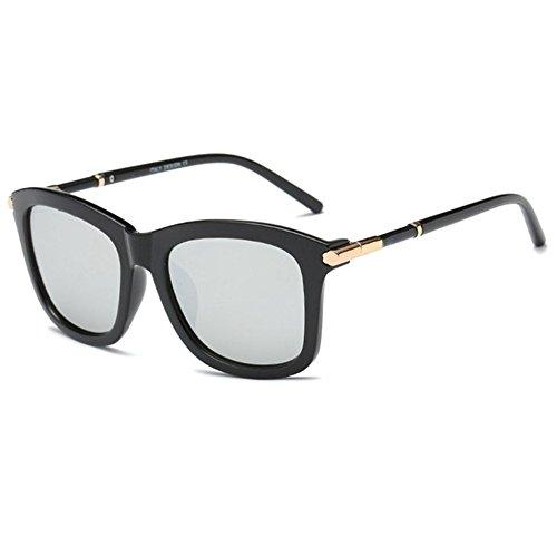 Aoligei Lunettes de soleil rétro couleur film mode pour Dame de lunettes de soleil tendance miroir d'ombre 0QMmpGo