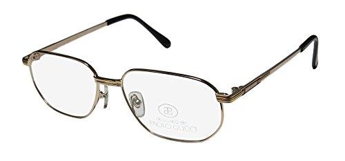 Paolo Gucci 8110 Mens Designer Full-rim Eyeglasses/Eye Glasses (54-17-140, - Eyeglasses Titanium Gucci Frames