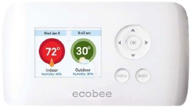 ecobee EB-EMSSi-01 2 Heat 2 Cool Energy Management System Busness/Commercial Thermostat, Full Color NON-Touch Screen, Internet Enabled by e-concept Distribution France by e-concept Distribution France