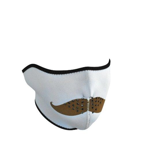 Zanheadgear WNFM163H Neoprene Half Face Mask, Mustache
