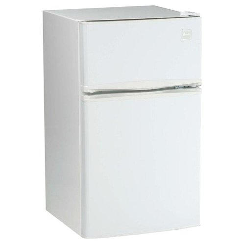 Avanti Avanti RA3106WT 2 Door Cycle Refrigerator, 3.1 Cubic Feet, (Avanti Beverage Dispenser Refrigerator)