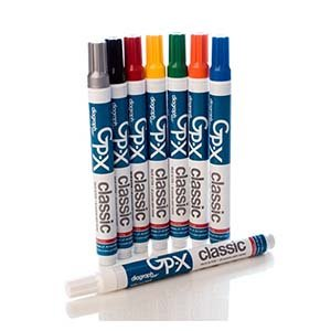 diagraph MSP 0968500, GP-X Classic Paint Marker, White (24 Units)