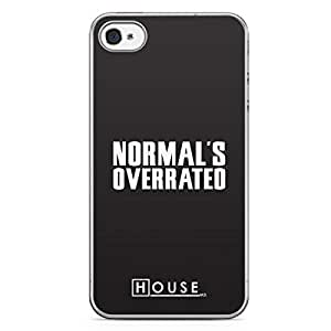 iPhone 4s Transparent Edge Case House Normal Is Overrated