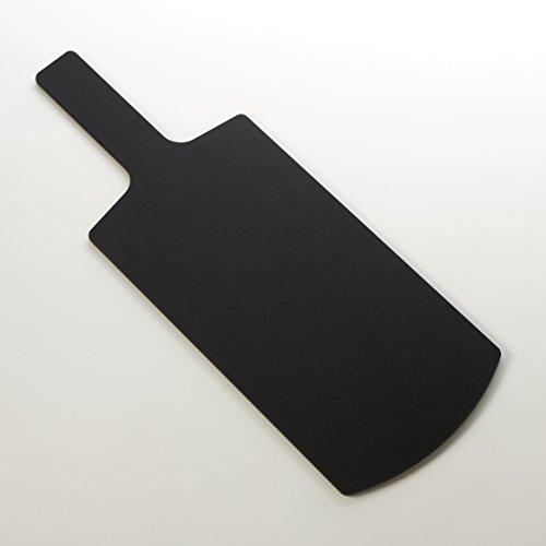 American Metalcraft MPB3 Rectangular Wood Serving Peel, Black, Medium