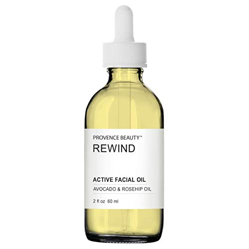 Active Facial Oil - Rewind - Avocado & Rosehip Oil - 2 FL OZ | Provence Beauty