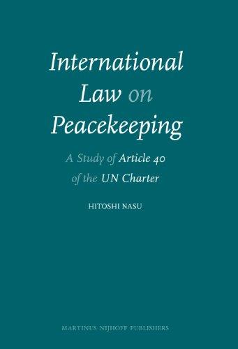 International Law on Peacekeeping