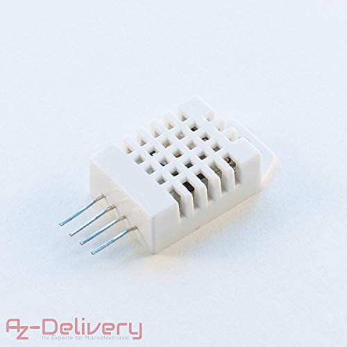 (AZDelivery ⭐⭐⭐⭐⭐ DHT22 / AM2302 Digital Temperature and Humidity Sensor Replace SHT11 SHT15 for Arduino and Raspberry Pi)