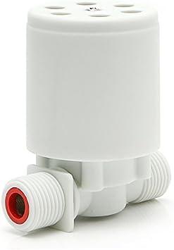 Wassertank automatisches Wasserstand-Kontrollventil Wasserturm wei/ß Schwimmerventil f/ür Wassertank Pool TOOLSTAR Automatisches Schwimmerventil