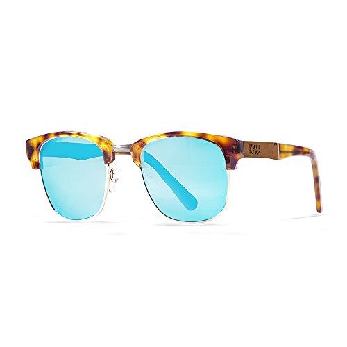 KAU Eyecreators K340000.7 Lunette de Soleil Mixte Adulte, Bleu