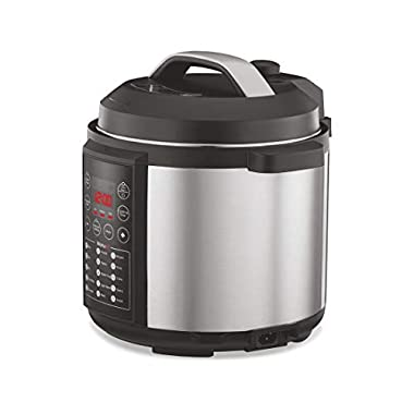 Preethi Touch EPC005 6-Liter Electric Pressure Cooker (Black) 9