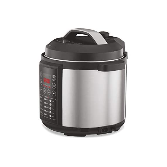 Preethi Touch EPC005 6-Liter Electric Pressure Cooker (Black) 2