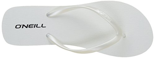 O'Neill Fw Wedge Flipflop - Chanclas Mujer Blanc (Rose Beetroot P)