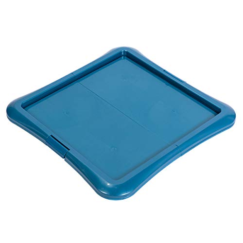 Favorite Foldable Dog Training Tray Puppy Floor Protection Training Pad Holder Tray