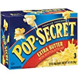 Pop Secret Extra Butter 3 pk Microwave Popcorn 10.5 oz (Pack of 12)