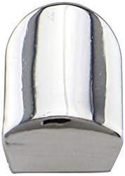 Yamyannie Art und Weise bewegliche einzelne Zahnkappe überzogen-Goldhüfte-Hopfenart-Zahn-Grill-Kappe (Farbe : Silber)